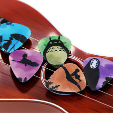 10pcs 1.0mm Musical Accessories Spirited away Guitar Picks Mix Plectrum