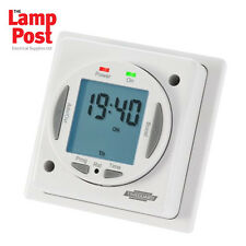 Timeguard NTT03 24 ore / 7 giorni COMPACT ELETTRONICO resistenza ad immers TIMER Switch