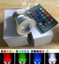 9W E27 150LM Color LED RGB Magic Light Bulb with Wireless Remote Control