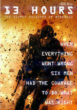 13 Hours: The Secret Soldiers of Benghazi DVD Brand New Movie Ships Worldwide
