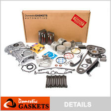 Fit 95-99 Nissan Sentra 200SX 1.6 DOHC Master Overhaul Engine Rebuild Kit GA16DE