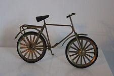 Vélo Miniature en Laiton Maison Poupée Collection