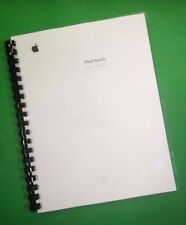 LASER PRINTED Manual Guide for Apple iPod Touch with iOS 5.0 software, 143 Pages