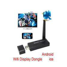 DLNA Miracast WiFi display TV dongle for HDMI wireless android smart phone