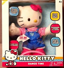 Hello Kitty Dance Time Plush Sanrio Brand NEW in Box VERY CUTE!