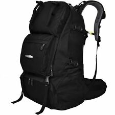 45L LOCALION Outdoor Backpack Multi-function Travel/Hike/Sports Rucksack Black