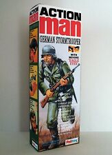 ACTION MAN CUSTOM GERMAN STORMTROOPER,  BOX ONLY (NO FIGURE INCLUDED).