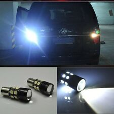 2x Error Free LED Reverse Back up Light project Bulb For For VW touran 2010-2015