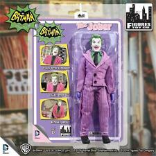 1966 BATMAN TV SERIES 1;  JOKER 8 INCH ACTION FIGURE NEW MOSC