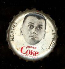1965 COKE COCA-COLA CAP + CORK CFL FOOTBALL TERRY EVANSHEN RC YEAR ALOUETTES