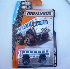 Scholar Hauler School Bus. MBX Adventure City 19/120 CFV93. New in Blister Pack.