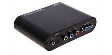 HDMI To  VGA Component YPbPr Video Digital Audio Format Converter