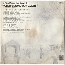 CHILDREN OF PLENTY--PICTURE SLEEVE + 45--(A BOY BOUND FOR GLORY)--PS--PIC--SLV