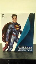 *SUPERMAN THE MAN OF STEEL STATUE JOHN ROMITA JR. DC COLLECTIBLES DIRECT BATMAN