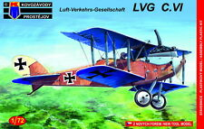 Kovozavody Prostejov 1/72 Model Kit 7272 LVG C.VI Decals Germany WWI