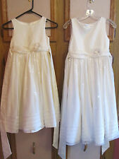 Set of 2 Cinderella Girls Sequin Formal Special Occasion Dress  Sz 12 & Sz 7