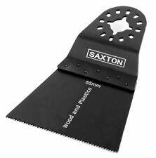10x Saxton 65mm Saw Blades Fein Multimaster Bosch Makita Milwaukee Multitool