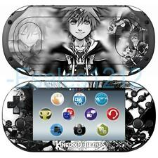 Anime Kingdom Hearts Sora Vinyl Skin Decal Sticker for Sony PS Vita 2000 PCH2000