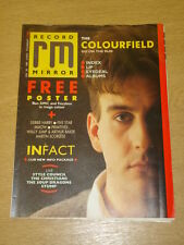 RECORD MIRROR 1987 FEB 28 COLOURFIELD FIVE STAR MIAOW