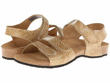 NEW VIONIC WITH ORTHAHEEL TECHNOLOGY $120 TAN VALENCIA SANDALS SHOES SZ 8
