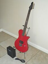 FIRST ACT MODEL ME538 ELECTRIC GUITAR LP STYLE W/ MA2039 PRACTICE AMPLIFIER VG+