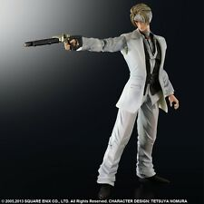 FIGURINE PLAY ARTS KAI RUFUS SHINRA - FINAL FANTASY VII ADVENT CHILDREN