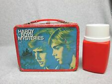 1977 HARDY BOYS MYSTERIES Tv & Book LUNCHBOX & THERMOS Spy Adventures C#7