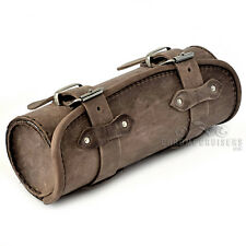 TRIUMPH THUNDERBIRD SPEEDMASTER ROCKET MOTORCYCLE BROWN LEATHER TOOL ROLL BAG
