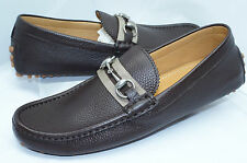 Gucci Men's Shoes Road NS Nylon Gucci Loafers Drivers Size G 10 Brown Cocoa NIB