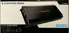 Lightning Audio L-4300 600 Watts 4-Channel Car Amplifier