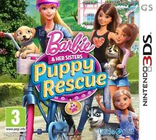 Barbie & Her Sisters Puppy Rescue Nintendo 2DS & 3DS * NEW SEALED PAL *