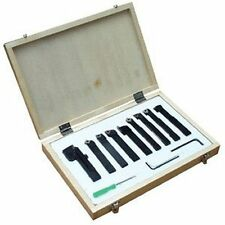 "12mm (1/2"") -9Pce Indexable Tip Metal Lathe Tool Set"