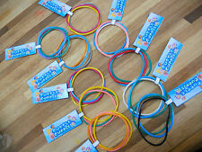 10 birthday party favor bracelets sets with custom Bubble Guppies Thank you tag