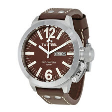 TW Steel CEO Canteen 50 MM Brown Dial Mens Watch CE1010