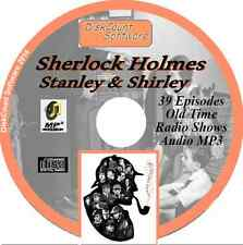 Sherlock Holmes - Stanley & Shirley 39 Old Time Radio OTR MP3 audio CD