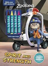 Color and Activity with 4 Chunky Crayons: Disney Zootopia by Parragon Books...