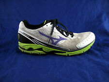 Mizuno Wave Rider womens running shoes athletic tennis sneakers sz 9.5 white