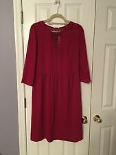 Promod Womens US Size 10 Red Dress