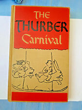 1945 Vintage book - The Thurber Carnival by James Thurber