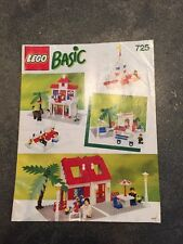 Lego 725 Vintage Basic Building Set - 98% Complete