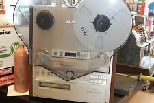 AKAI Model GX-747 4 Track Stereo Tape Deck Reel to Reel!  Reels included!