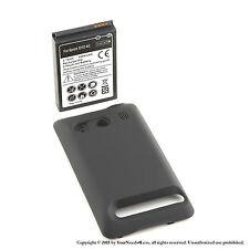 3500mAh Extended Battery for HTC EVO 4G Black Cover