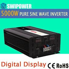 5000wpeak10000W DC 12/24/48V to AC110V/220v Pure Sine Wave Solar power inverter