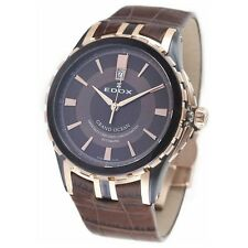 NEW EDOX Men's 80077 357BRR BRIR Grand Ocean Automatic Chronometer Watch