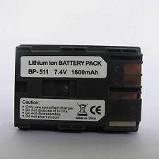 BP-511 Battery for Canon EOS Rebel 300D D30 BP511 20D 30D 40D 5D 10D 50D G2