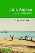 Jane Austen and the Enlightenment by Peter Knox-Shaw (2004, Hardcover)