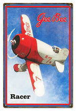 Reproduced from Original Art by Bob Miller Gee Bee Model Racer  Sign
