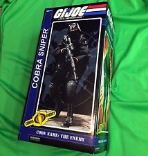 Sideshow Collectibles COBRA SNIPER G.I. JOE Sixth Scale 1/6 Figure GI JOE
