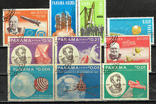 Panama US Space Exploration stamps 1967