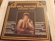 DEL REEVES STARDAY/GUSTO LP  GREATEST HITS  SEALED M-